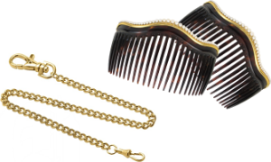 combs and watch chain